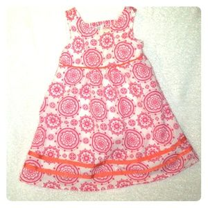 Other - 2T Party Summer Pink/White Dollbaby Dress